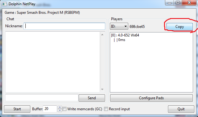 (TUTORIAL) Como instalar y jugar Project M online. Playnetplay2